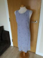 Ladies Dress Size 12 NEXT Lilac Blue Party Evening Wedding
