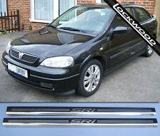 Vauxhall Astra SRI Mk4 'G' 2Dr Umbral Protectores/Kick placas