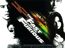 The Fast and the Furious poster : Paul Walker poster, Vin Diesel poster