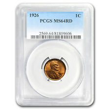 1926 Lincoln Cent MS-64 PCGS (Red)
