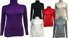 Unbranded Polo Neck Thin Knit Jumpers & Cardigans for Women
