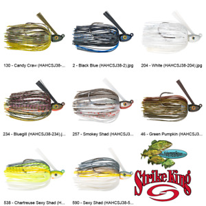 Strike King Jig Swim 3/8oz (HAHCSJ38) Hack Attack Heavy Cover Any 8 Colors Lure