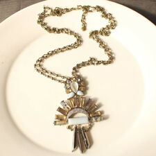 New Baublebar Pendant Statement Necklace Gift Vintage Lady Party Holiday Jewelry