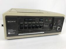 Vintage Sony SLO-340 Portable Betamax Video Cassette Recorder Player Parts Only