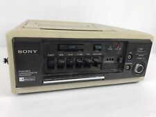 Vintage Sony Slo-340 Portable Betamax Video Cassette Recorder Player Untested