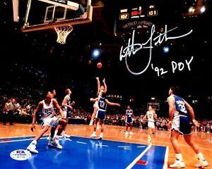Christian Laettner autographed signed inscribed 8x10 photo Duke Blue Devils PSA