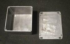 "Diy Aluminum Box with Lid 3 3/4"" x 4 3/4"""