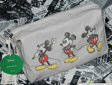 Disney Mickey Mouse Travel Toiletry Makeup Case Wash Tarpaulin Bag