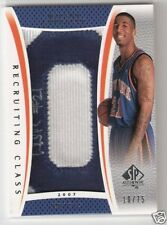 07-08 SP AUTHENTIC - WILSON CHANDLER PATCH AUTO #/75
