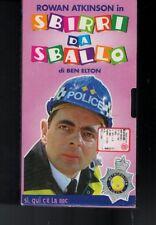 VHS=ROWAN ATKINSON in SBIRRI DA SBALLO=DI BEN ELTON=SI, QUI C'E' LA BBC=N°8