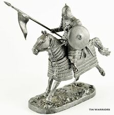 Mongol. Heavy cavalry. Tin toy soldiers 54mm 1/32 miniature metal sculpture