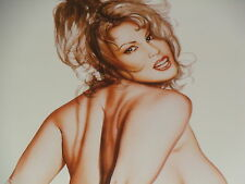 "OLIVIA DE BERARDINIS LIMITED EDITION SIGNED & NUMBERED ""SANDRA TAYLOR STUDY"""