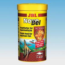 JBL novobel 1l-flockenfutter Food Fish Aquarium Guppy Platy Scalars Cichlid