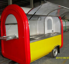 Brand New Concession Stand Trailer Mobile Kitchen Free Shipped By Sea