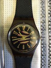 "1990 Swatch Watch Ladies ""Short Wave"" - LF 105 - NIB VINTAGE!"