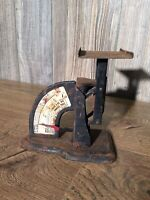 Antique Original The Gem Postal Scale Vintage US Post Office S4