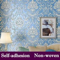 3D Non-woven Self Adhesive Luxury Wallpaper Roll Living Room Bedroom Decoration