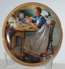 Norman Rockwell Working in the Kitchen 9th Issue in Series Rediscovered Women
