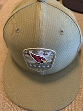 Arizona Cardinals Salute To Service New Era Fitted Hat 7 1/8 - Almost New!