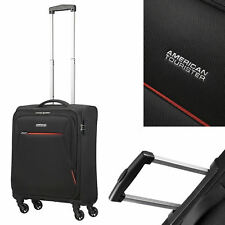 American Tourister Rally Cabin 4 Wheel Suitcase With 3 Dial Lock Black