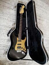Fender stratocaster American deluxe Montero black