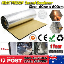 6M*0.6M Sound Deadener Heat Proof Insulation Noise Proofing Foam Car Auto Shield