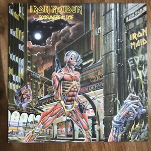 Iron Maiden 'Somewhere In Time' LP 1986