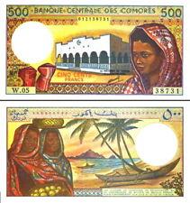 COMORES - Comoros 500 francs 1994 FDS - UNC