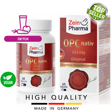 OPC native 192 mg (60 capsules) Detox VEGAN ZEINPHARMA