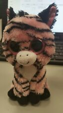 TY Beanie Boos - ZOEY the Pink Zebra (Glitter Eyes - 6 inch) no tags
