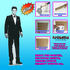 ELVIS TUXEDO LIFESIZE CARDBOARD CUTOUT STANDEE STANDUP THE KING SC576