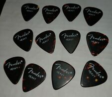 5 dozen.  SPECIAL 1990's FENDER® #351 TRT SHELL Gtr PICKS  heavy  RARE NOS 60pcs