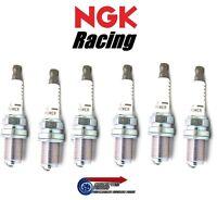 Set 6x Colder NGK V-Power Racing Spark Plugs HR7 For R33 GTS-T Skyline RB25DET