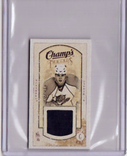 NATHAN HORTON 09/10 CHAMPS CHAMP'S MINI THREADS JERSEY #MT-NH Card Game-Used