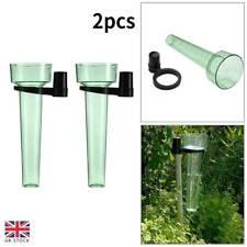 More details for 2pcs/set water rain gauge rainwater rainfall guage garden outdoor rain meter new