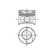 Kolben NURAL 87-123400-10