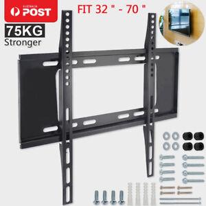 Slim TV Wall Bracket Mount Toshiba Philips Hitachi 32 40 42 50 55 60 65 70 Inch