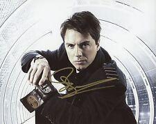 "JOHN BARROWMAN Authentic Hand-Signed ""CAPTAIN JACK ~ TORCHWOOD"" 8x10 Photo B"