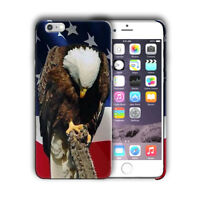 American Flag USA Eagle iPhone 4S 5S SE 6S 7 8 X XS Max XR 11 Pro Plus Case n3