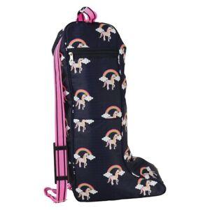 Unicorn Boot Bag Horse Riding