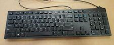 BRAND NEW Dell KB216 Slim Multimedia USB Black Keyboard 0RKR0N