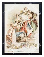 Historic Buck Beer 1890s Advertising Postcard