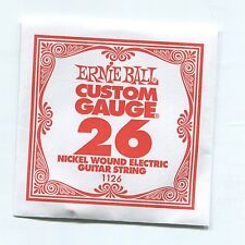 Ernie Ball Custom Gauge (26) Nickel Wound Single Guitar String - Regular Slinky