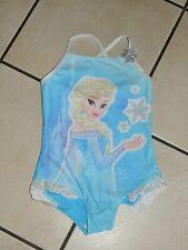 Disney Frozen Elsa Eiskönigin Badeanzug Gr. 140 ( 9-10 UK ) Neu