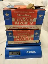 """Lot 8 lb 14 oz Sterling 16 Sinkers CC Nails 3-1/4"""" BULK NAILS Made in USA"""