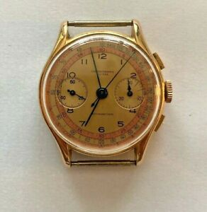 Chronographe Suisse Watch 18k Rose Gold