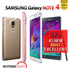 GENUINE SAMSUNG GALAXY NOTE 4 32GB 64GB 4G LTE UNLOCKED + FREE EXPRESS