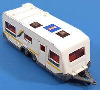 Siku #2532 Caravan Trailer Upat Vintage W. Germany 048EA