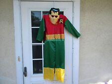 Vintage Medium Sized Robin Halloween Costume 1997 DC Comics  Rubie's Costume Co.