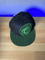 DC Comics Green Lantern Bioworld Embroidered Logo Black Fitted Flex  Free Ship